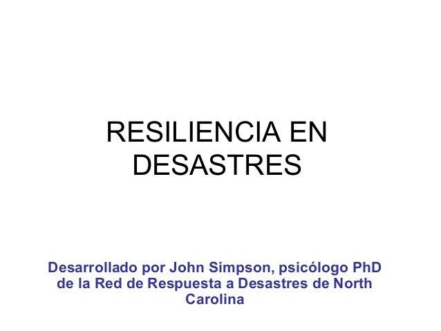 3.  resiliencia en desastres