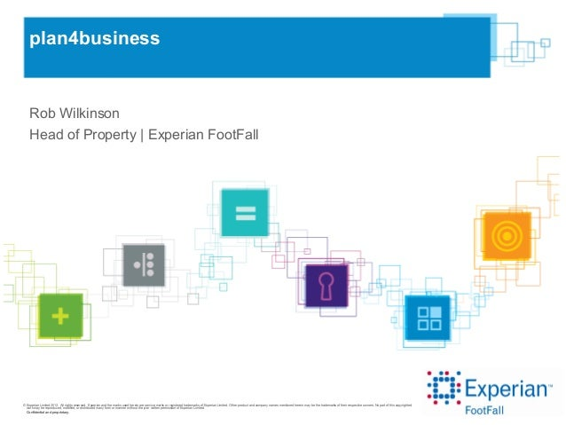 © Experian Limited 2012. All rights reserved. Experian and the marks used herein are service marks or registered trademark...