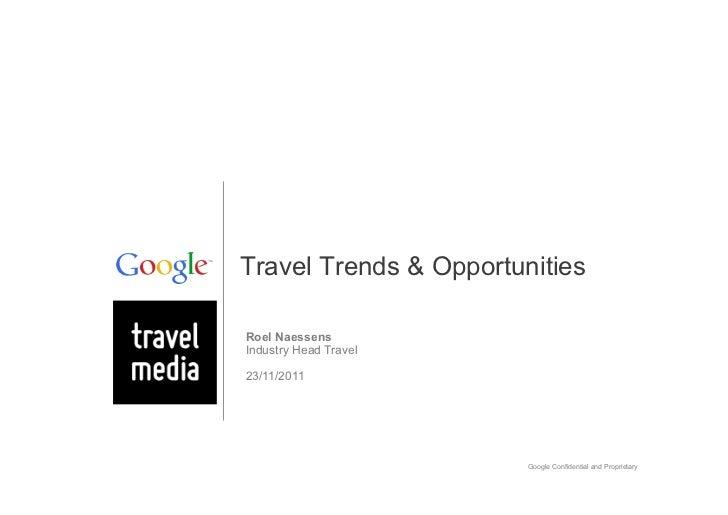 Travel 2011 : Roel Naessens (Google)