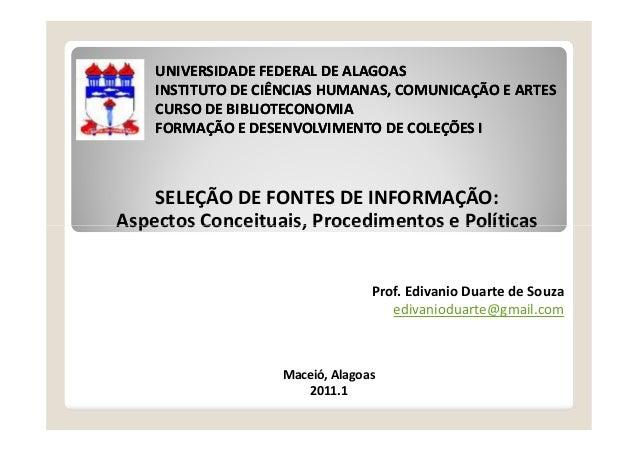 UNIVERSIDADE FFEEDDEERRAALL DDEE AALLAAGGOOAASS  IINNSSTTIITTUUTTOO DDEE CCIIÊÊNNCCIIAASS HHUUMMAANNAASS,, CCOOMMUUNNIICCA...