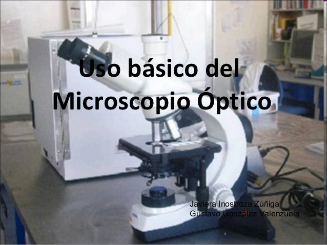 Uso basico del microscopio optico
