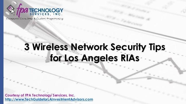 Network Security Los Angeles