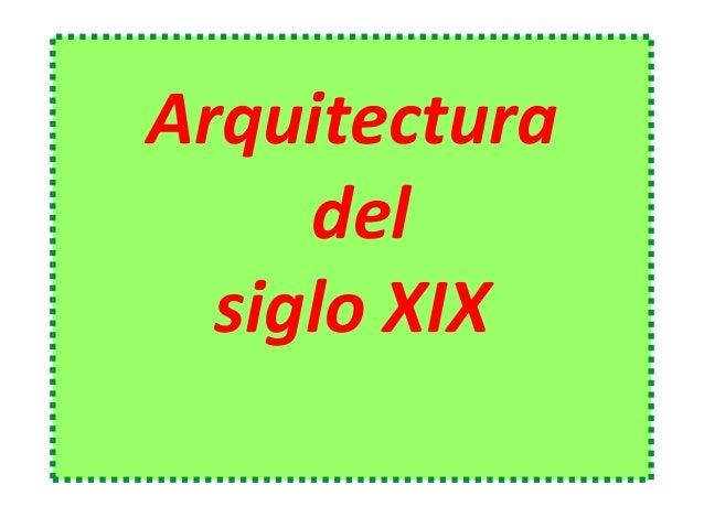 30.  Arquitectura del siglo XIX. GAUDÍ. (2º de bachillerato)