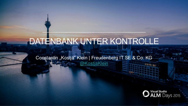 "Constantin ""Kostja"" Klein | Freudenberg IT SE & Co. KG @KostjaKlein"