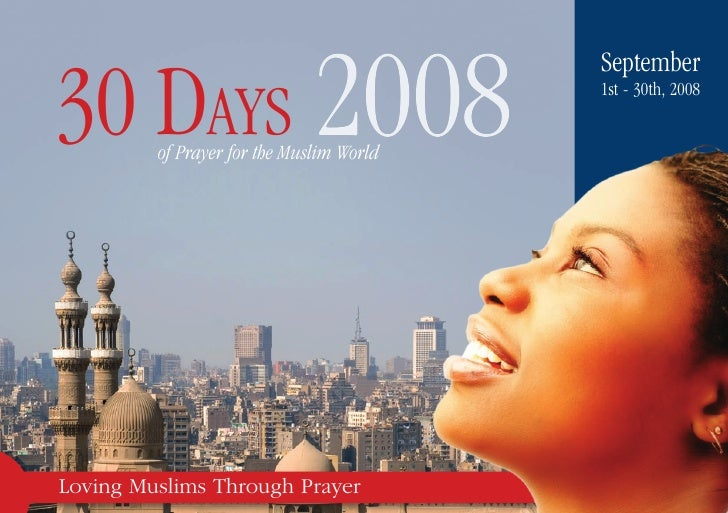 30-Days Muslim Prayer Guide