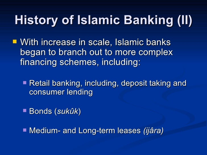 Bankers Perception on Islamic Banking