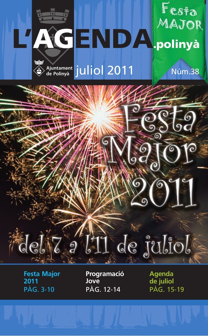 Programa de la Festa Major 2011 - Polinyà