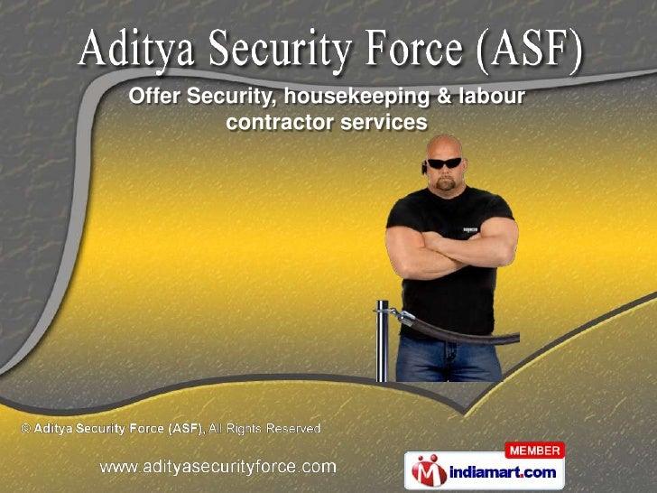 Aditya Security Force (ASF) Maharashtra India