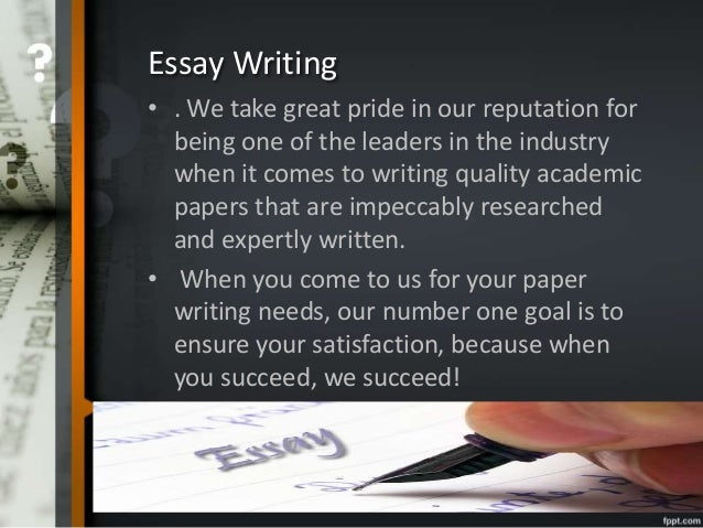 Argue Essay Writing