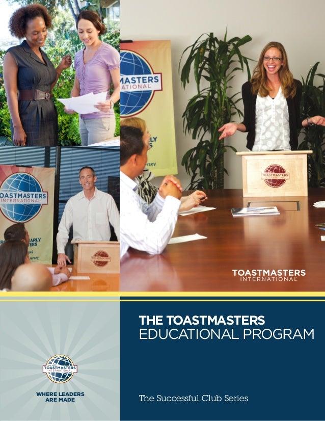The Toastmasters Educational Program (PDF)