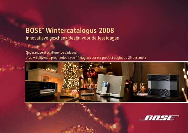 BOSE DMG winter catalogue