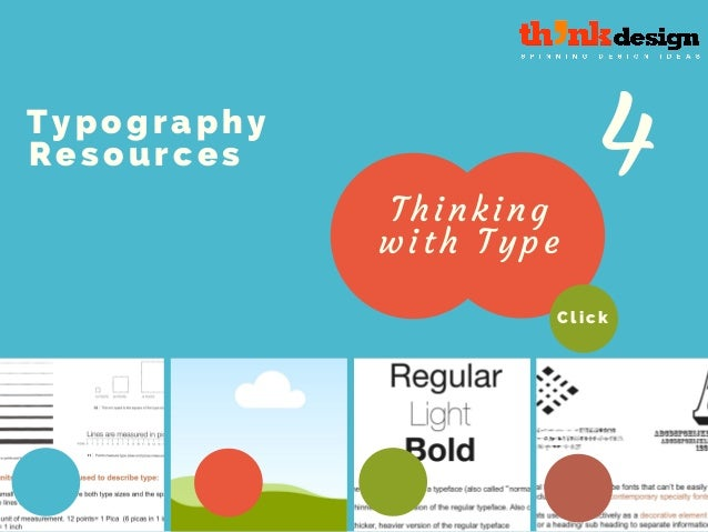 typography resources thinking with type