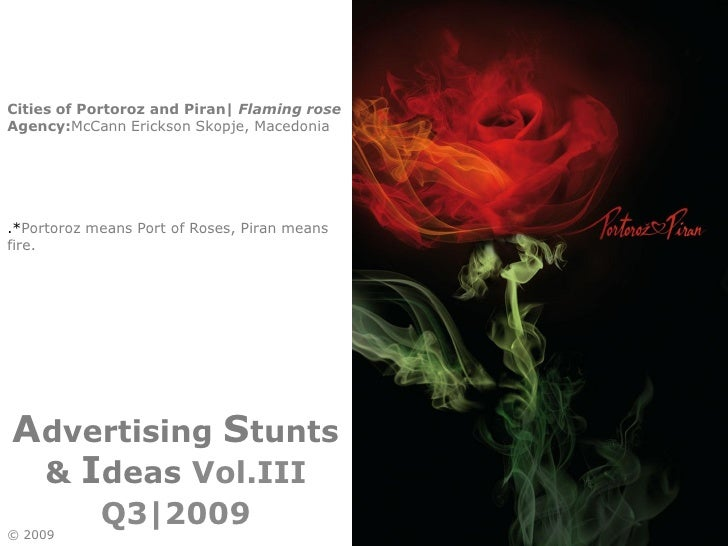 Advertising Stunts And Ideas  Q42009 Vol.III