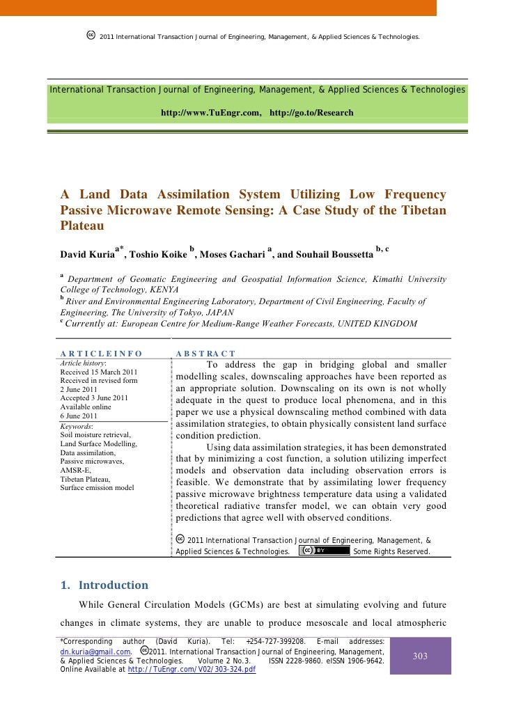 A Land Data Assimilation System Utilizing Low Frequency Passive Microwave Remote Sensing: A Case Study of the Tibetan Plateau