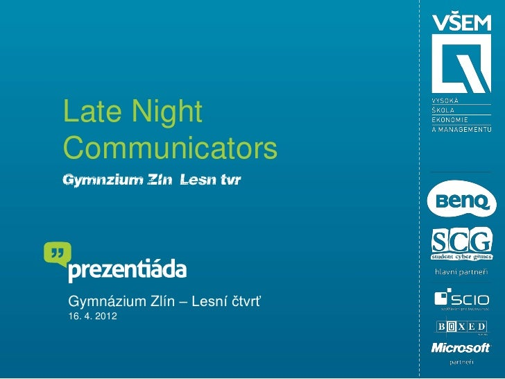 KBB - Late Night Communicators