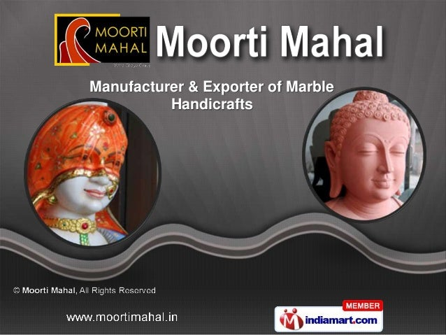 Manufacturer & Exporter of Marble          Handicrafts