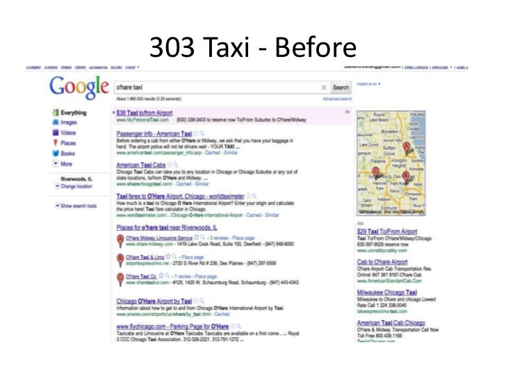 303 Taxi Case Study