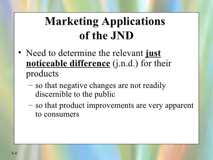 just noticeable difference Nonetheless, just as new medicines and medical devices enhance lives, but their introduction is done cautiously,  about don norman what does jnd mean.