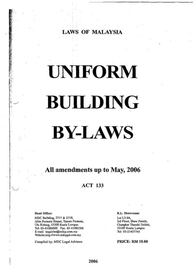 Laws And Regulations For Buildings Maintenance