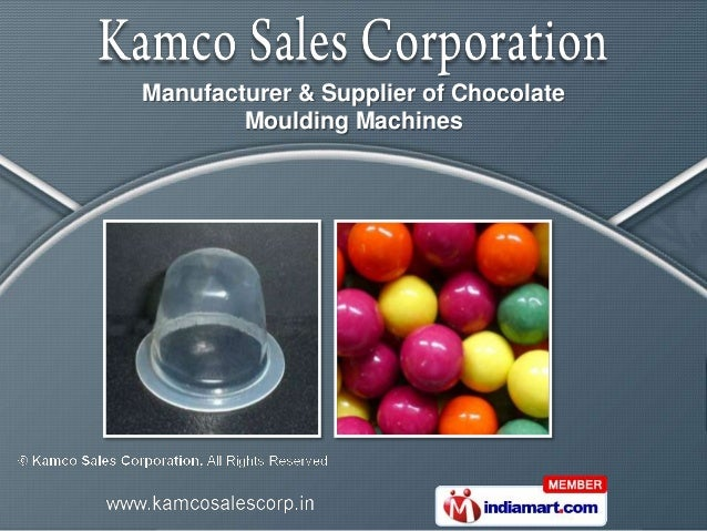 Manufacturer & Supplier of Chocolate        Moulding Machines