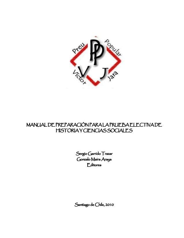 Libro Psu Historia y Ciencias Sociales U. Chile