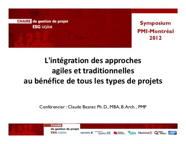 Symposium                                                        PMI-Montréal                                             ...
