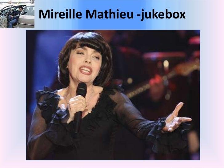 Mireille Mathieu -jukebox<br />
