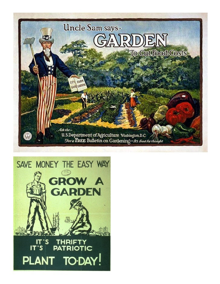 classical gardening posters