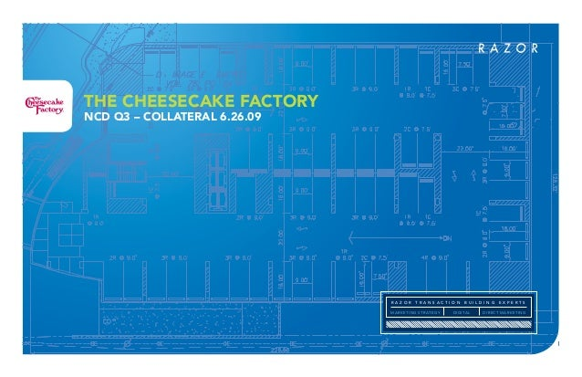 National Cheesecake Day Collateral Deck