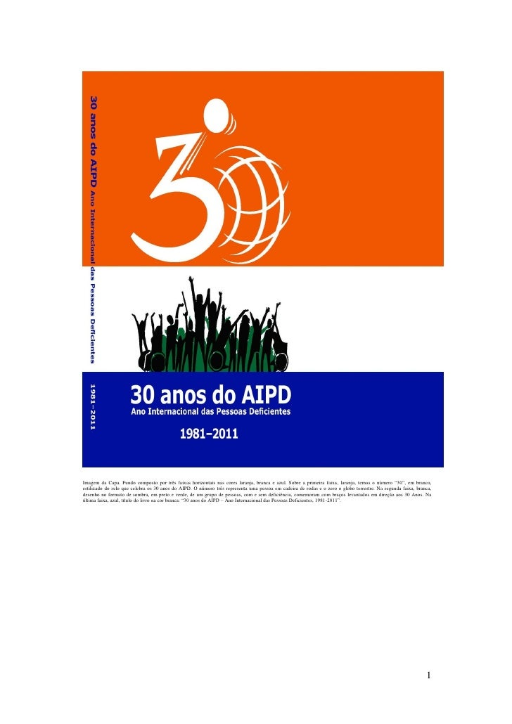Imagem da Capa. Fundo composto por três faixas horizontais nas cores laranja, branca e azul. Sobre a primeira faixa, laran...