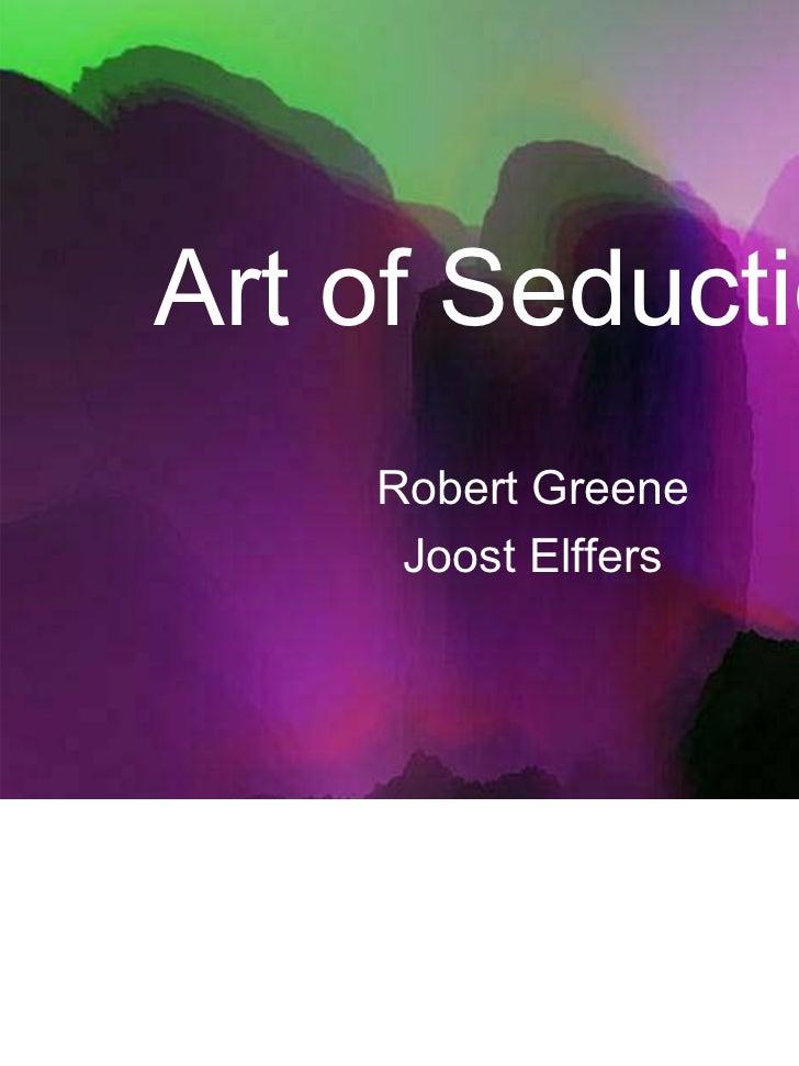 art of seduction by robert greene pdf