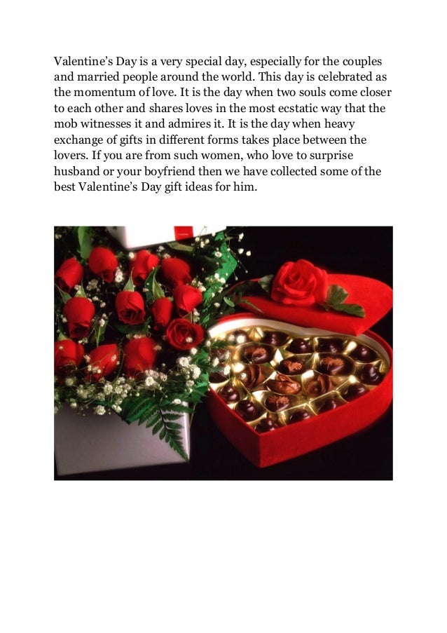 30 best valentine s day gift ideas for him for Best gift in valentines