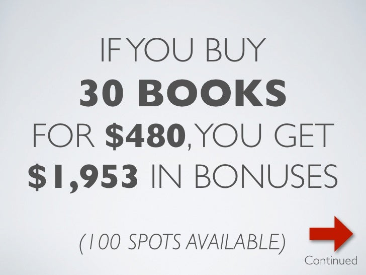 The 4-Hour Body Launch: Buy 30 Books, Get $1953 in Bonus Gifts