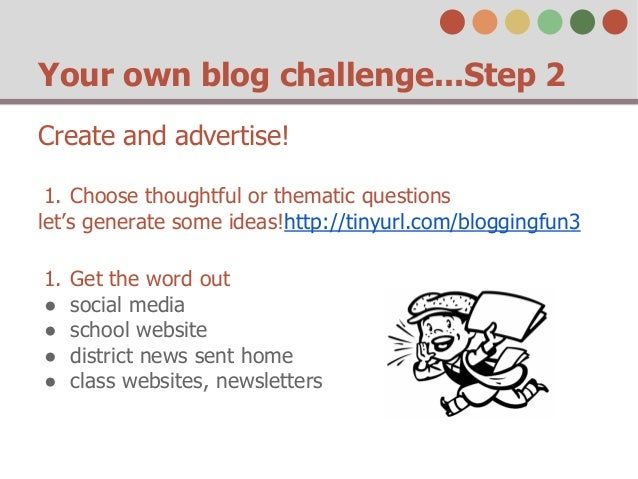 Blog Challenge Questions Your Own Blog Challenge
