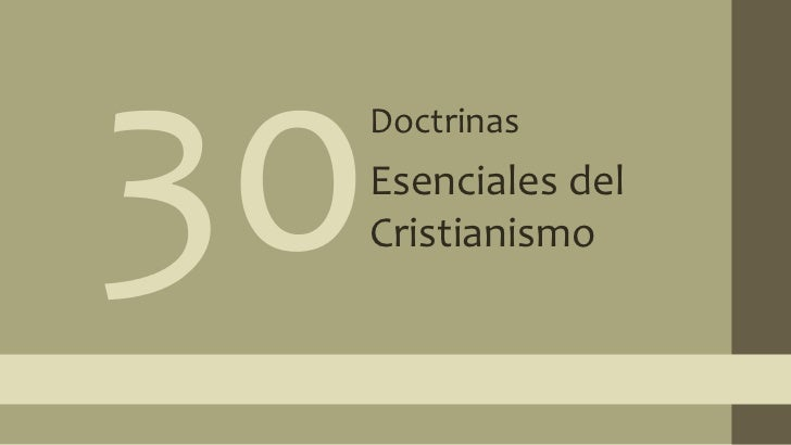 30 doctrinas 11