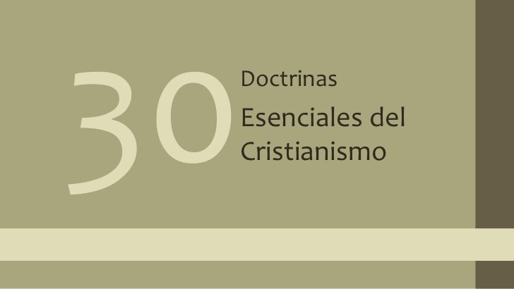 30 doctrinas 15
