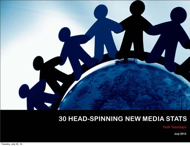 30 Head Spinning New Media Stats