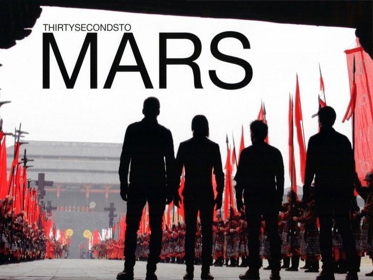 """""""[nama band ini = 30 seconds to mars] sebenarnya berasaldari sebuah tesis bahwa band ditemukan online yang ditulis        ..."""