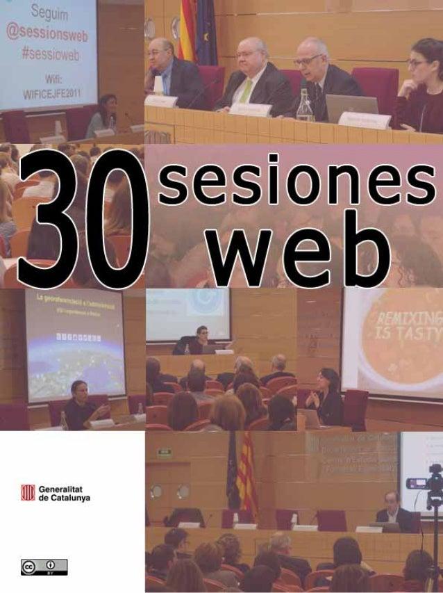 Sesiones web (2005 – 2013)Centro de Estudios Jurídicos y Formación Especializada (Departamento de Justicia) y Dirección Ge...
