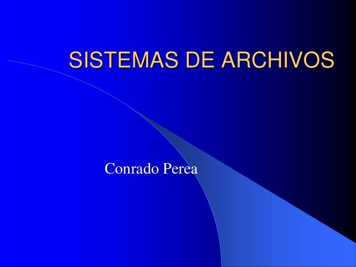 30 sistema de archivos