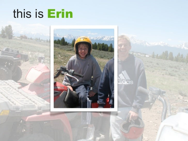 this is Erin