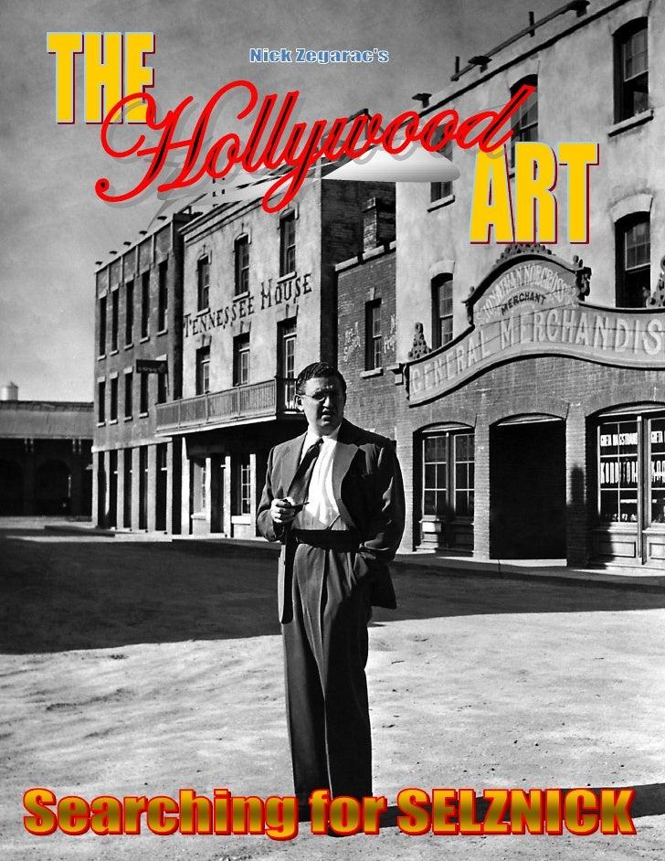 THE HOLLYWOOD ART - David O. Selznick