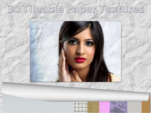 30 tileable paper textures