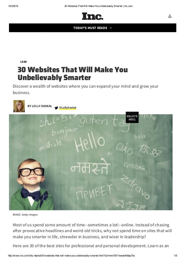 30 websites that will make you unbelievably smarter inc for Websites you can draw on