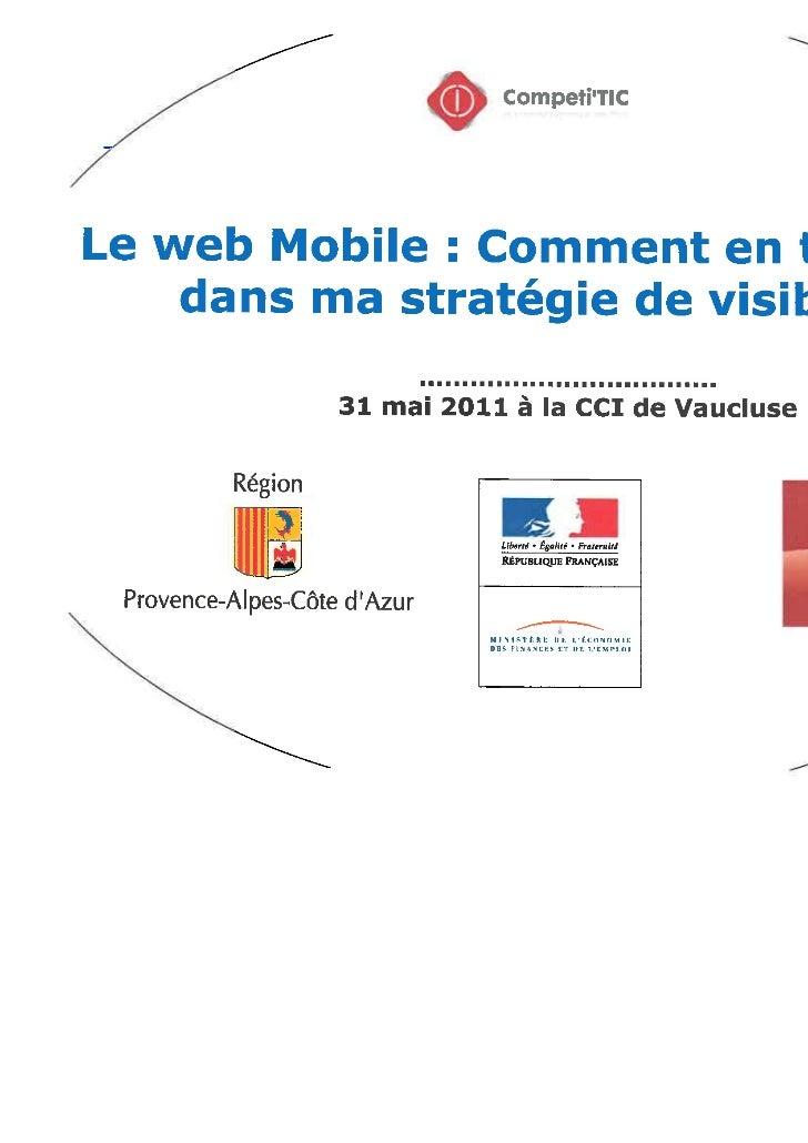les opportunités du web mobile