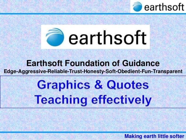 31 2-earthsoft-training to teachers- graphics