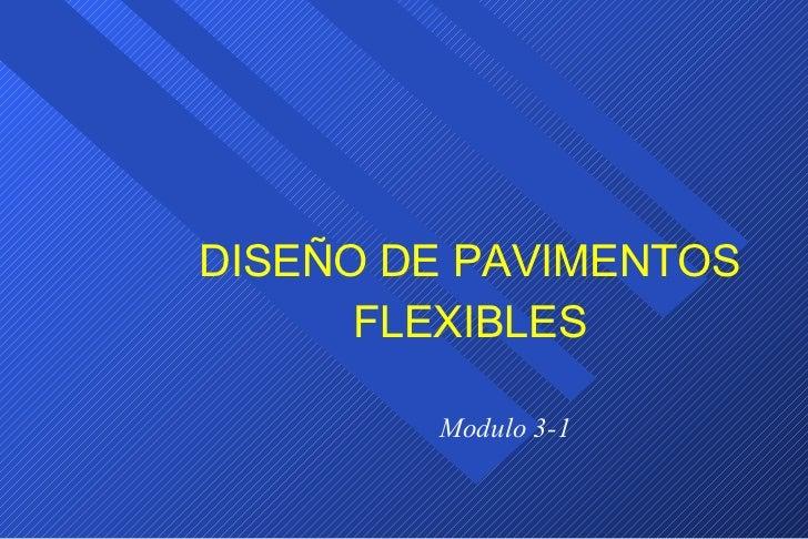 Diseño PavimentoFlexible