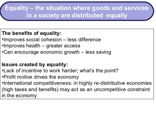 economic equality essay