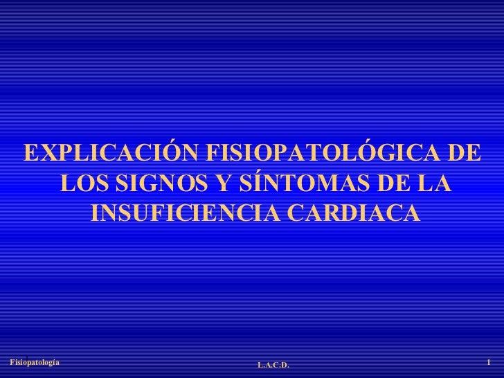 31. Ex. Fp De Signos Y Sintomas De Insuficiencia Cardiaca