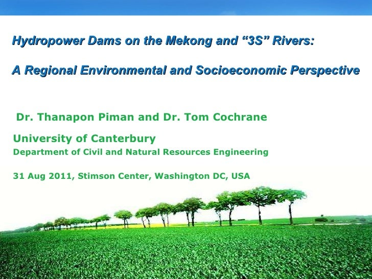 University of Canterbury Department of Civil and Natural Resources Engineering 31 Aug 2011, Stimson Center, Washington DC,...